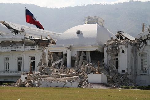 haiti palace